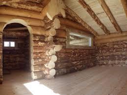 maison en bois interieur maison en rondins de bois uxbik