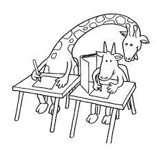 imagenes de jirafas bebes animadas para colorear pagina para colorear jirafa dibujo de jirafa copiando en examen para