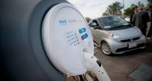 electric cars charging smart car meets smart charger at uc san diego