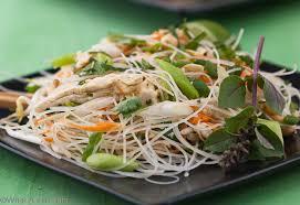 thai rice noodle salad what a eats