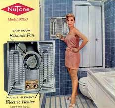 old fashioned electric fan vintage 1960 electric bathroom heaters retro renovation