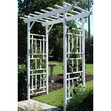 diy trellis arbor arbors u0026 trellises garden center the home depot