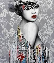 Urban Art Style - el delicado street art de hush street art pilgrimmage