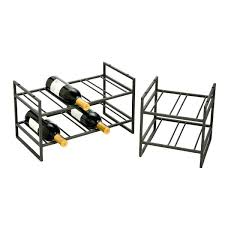 stainless steel wine racks uk rack iron the container store x