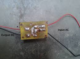 electronics project how to make a bridge rectifier always connect