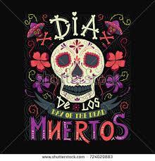 dia de muertos mexican day death stock vector 225008980 shutterstock