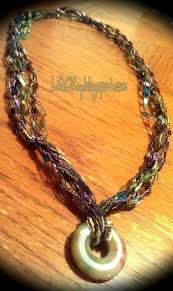 trellis ladder yarn necklace instructions 45 best ladder yarn images on pinterest yarn necklace ribbon