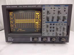 lecroy 9310am dual 400 mhz oscilloscope u2022 525 00 picclick