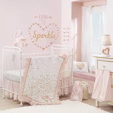 Baby Minnie Mouse Crib Bedding Set 5 Pieces by Infant Crib Sheets Girls Crib Bedding Peach Gold Grey Blue Boho