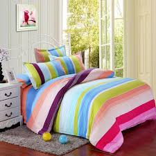 Girls Queen Size Bedding Sets by Home Textile Rainbow Bedding Set Girls And Boys King Size Bedding