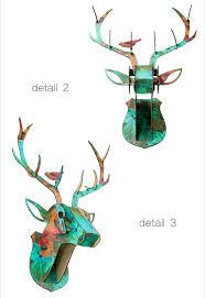 deer head home decor 2016 high quality 3d animal home decor ideas wood deer head wall