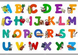imagenes educativas animadas alfabeto de dibujos animados educativos para niños archivo