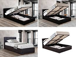 Birlea Ottoman Birlea Ottoman Bed Gas Lift Up Storage Beds All Sizes Black