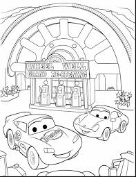 surprising cars lightning mcqueen coloring pages disney cars