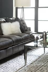 Leather Upholstery Sofa Introducing The Havertys Colton Sofa Leather Upholstery Cutback