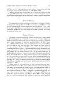 1 vector borne disease emergence and resurgence vector borne