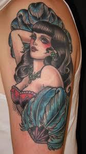 1001 idées tattoo pin up u2013 le charme à l u0027ancienne en 43 photos