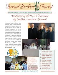 bread broken u0026 shared spring 2017 by blessed sacrament issuu