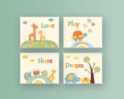 Baby Decor For Nursery Wall Decor Nursery Prints Baby Room Decor