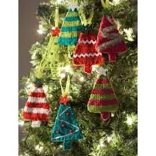 free knit christmas tree ornament patterns snugglebuggs knits