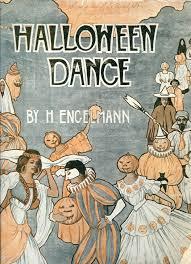 halloween dance antique halloween art