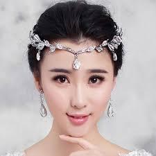 wedding headband new leaf crown bridal hair accessory wedding headband