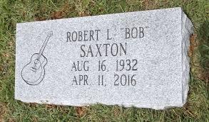 tombstone cost robert l bob saxton 1932 2016 find a grave memorial