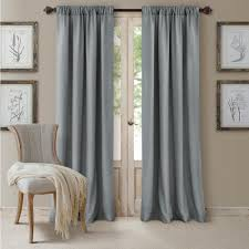 blue outdoor curtains u0026 drapes window treatments the home
