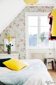 bedrooms fabulous wallpaper adds color and pattern to the cool