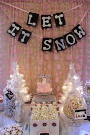 birthday party ideas winter image inspiration of cake and