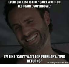 Funny Meme Generator - everyone else is like can t wait for february superbowl i m like can