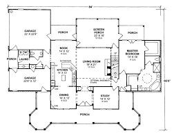 Colonial Floor Plans House Plan 68173 At Familyhomeplans Com
