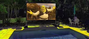 backyard movie night hire party hire sunshine coast
