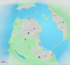 San Francisco On World Map by Nudle Maps Watch Dogs Wiki Fandom Powered By Wikia