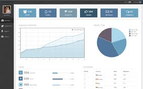 html report template free top 10 bootstrap dashboard templates social media and tech