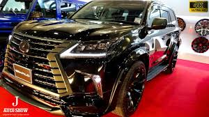 lexus lx 570 price 2017 4k wald lexus lx570 2017 modified sports line osaka auto messe