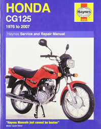 honda cg125 1976 2000 service and repair manual haynes service