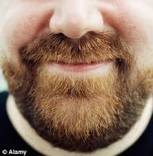 face it chaps women beards because they fear the man will