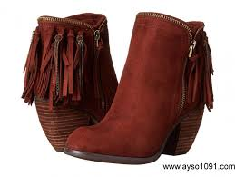 womens fringe boots size 11 summer 2018 not womens us flippin fringe boots rust