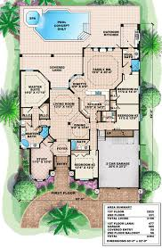 Beauteous Mediterranean House Floor Plans Other Home
