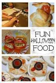 halloween menu lots of halloween food
