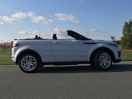 land rover evoque blue 2017 range rover evoque convertible test drive review autonation
