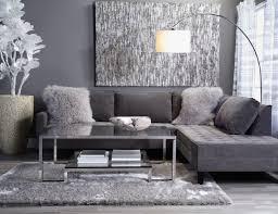 Grey Modern Sofa by Grey On Grey Living Room Glass Window Tv Stand Brown Stony Wall
