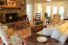 elegant colorful farmhouse style feathering my empty nest