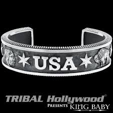 man sterling bracelet images King baby bracelets for men tribal hollywood png