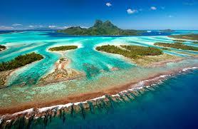 Map Of Bora Bora Society Islands Welcome Tahiti