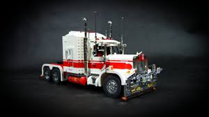 kw t900 for sale lego motorized kenworth road train youtube
