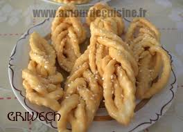 amour de cuisine fr griwech gateau algerien en cuisine de soulef amour de cuisine