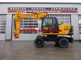 used jcb js 175 w t4i wheeled excavators year 2015 price