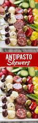 antipasto skewers dinner at the zoo